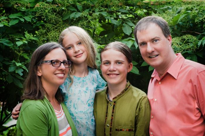 Cherry, Eliza, Jasper, and Aaron